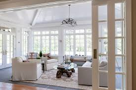 sunroom lighting ideas. vaulted ceiling sunroom tandem pocket wall doors that are 12 feet wide easily open and lighting ideas