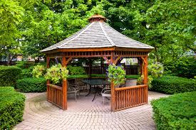 ideas outdoor pavilion small patio garden