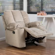 gannon fabric glider recliner club chair by christopher knight home chairs living room