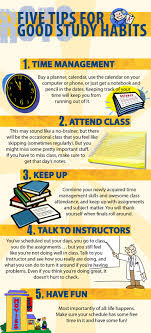 best ideas about good study habits study habits five tips for good study habits