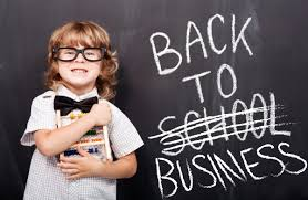 Image result for back to business school images