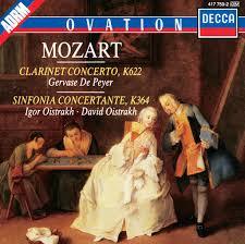 <b>Mozart</b>: <b>Clarinet</b> Concerto / Sinfonia Concertante