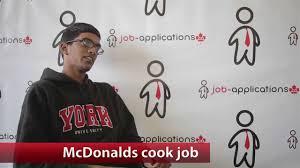 mcdonalds application jobs careers