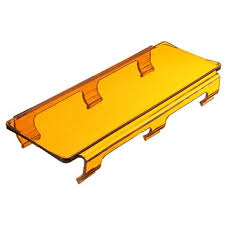 20x 8cm amber <b>curved led light bar</b> lens cover for atv utv off road ...