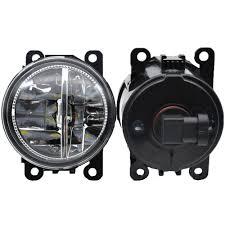 <b>2PCS Fog Lamps</b> DRL Lighting LED Lights For Mitsubishi L200 ...