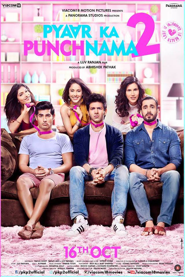 Download Pyaar Ka Punchnama 2 (2015) Hindi Full Movie 720p [750MB] | 480p [400MB]