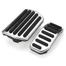 gas+brake foot pedals accessory kit <b>no drill steel</b> for volvo s60 v60 ...