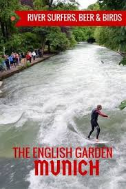 guide and tips for visiting the english garden in munich with kids see the river blueberries viktualienmarkt munich visit