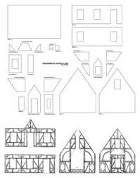 images about Gingerb House Ideas on Pinterest    Gingerb House Plans  Tudor style
