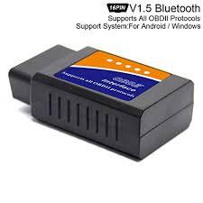 ELM327 V1.5 Chip <b>Super Mini</b> Bluetooth Scanner <b>Wireless</b> Interface ...