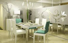 dining room wall decorating ideas:  modern dining room wall decor of dining room decor ideas for the small and modern one