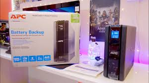 <b>APC Back UPS Pro</b> 1000 Battery Backup with LCD review (BR1000G)