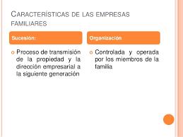 Resultado de imagen de caracteristicas empresas familiares