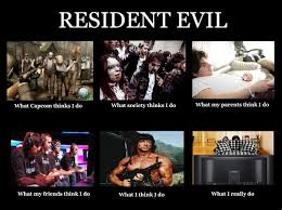 What I Do | Resident Evil / Biohazard | Know Your Meme via Relatably.com