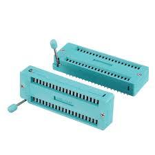 Other Components - <b>6pcs IC Lock Seat</b> Zif Socket Test Universal zif ...