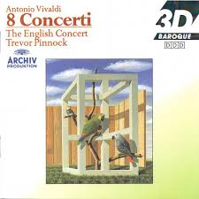 The English Concert*, <b>Trevor Pinnock</b> - Antonio <b>Vivaldi</b> - 8 Concerti ...