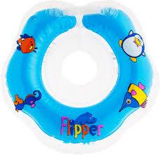 "<b>Круг</b> на шею для <b>купания Roxy</b>-<b>Kids</b> ""Flipper"", цвет: голубой ..."