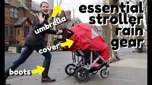 Best <b>Stroller Accessories</b> for the <b>Rain</b> - YouTube