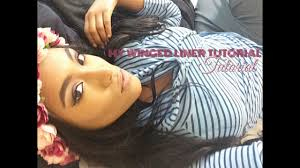 How To : Perfect Winged <b>Eyeliner</b> (W/<b>Liquid Liner</b> - YouTube