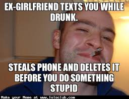 LOL's Club » Laugh Out Loud's Club » ex-girlfriend texts you while ... via Relatably.com
