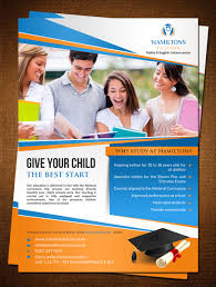 bold professional flyer design for hamiltons tuition by bold professional flyer design for company in united kingdom design 7101349
