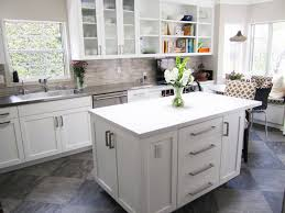 Gray Tile Kitchen Floor Blue Grey Kitchen Cabinets Stunning Kitchen Cabinets In Cool Gray