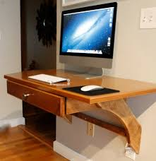 furniture amazing wooden wall mounted computer desks with drawer for imac gorgeous coolest desks ever for amazing computer desk small