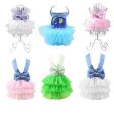 Hoomall <b>Pet Dog</b> Clothes Dress Princess Dress Teddy <b>Puppy</b> ...