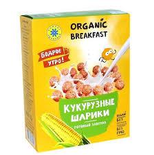Завтраки <b>сухие</b> Кукурузные шарики 100г <b>Компас здоровья</b>