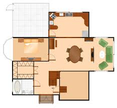 Floor Plans Solution   ConceptDraw comHouse Plan Sample