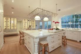 big open kitchen design white