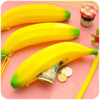 Wholesale Silicone <b>Banana Pencil Case</b> for Resale - Group Buy ...
