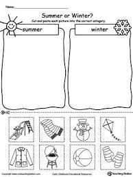 Sorting, Worksheets and Summer winter on Pinterestsummer winter,sort by season,season sorting,seasons,summer seasonal worksheets,