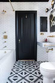 <b>Small</b> Bathroom Ideas in <b>Black</b>, <b>White</b> & Brass | <b>Tiny</b> bathrooms ...