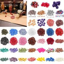 <b>100pcs</b> Vintage Octagon Sealing Wax Beads for <b>Wedding Party</b> ...