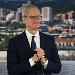 Apple CEO Tim Cook Makes Surprise Visit for Reno Facility Groundbreaking