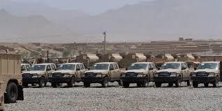 Irak'taki Afgan ordusu armalı araçların sırrı çözüldü