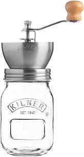 Kilner Manual <b>Coffee</b> Grinder , <b>Transparent</b>: Amazon.co.uk: Kitchen ...