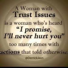 When you start to wonder whether you can trust someone or not ... via Relatably.com