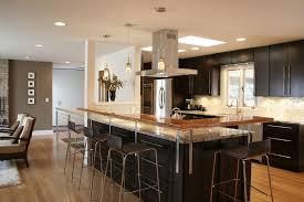 l shaped kitchen islands