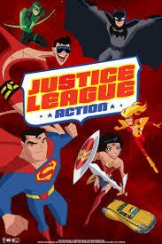 Justice League Action Temporada 1 audio latino