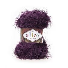 <b>Пряжа Alize Decofur Цвет.304</b> Фиолетовый, купить в интернет ...