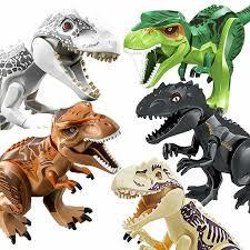 6x Fr Lego Dinosaurier Tyrannosaurus T-Rex Spielzeug <b>Jurassic</b> ...