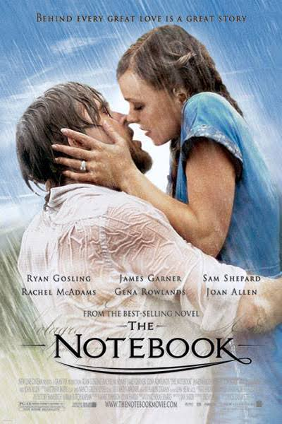 The Notebook - best romance movies on Netflix