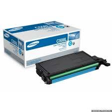 Тонер <b>Картридж Samsung CLT</b>-<b>C508L</b> голубой для <b>Samsung CLP</b> ...