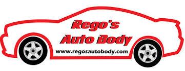 Image result for rego's auto body logo Providence, RI