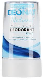 DeoNat <b>дезодорант</b>, <b>кристалл</b> (<b>минерал</b>), <b>Natural</b> — купить по ...