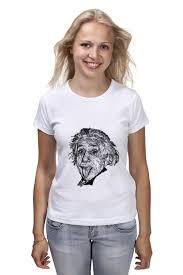 Футболка <b>классическая Printio Альберт</b> Эйнштейн #1610510