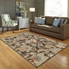 room floral rug bhg better homes and gardens paisley berber printed area rug or runner wal