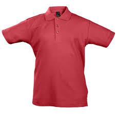 <b>Рубашка поло детская Summer</b> II Kids, красная, на рост 142-152 см